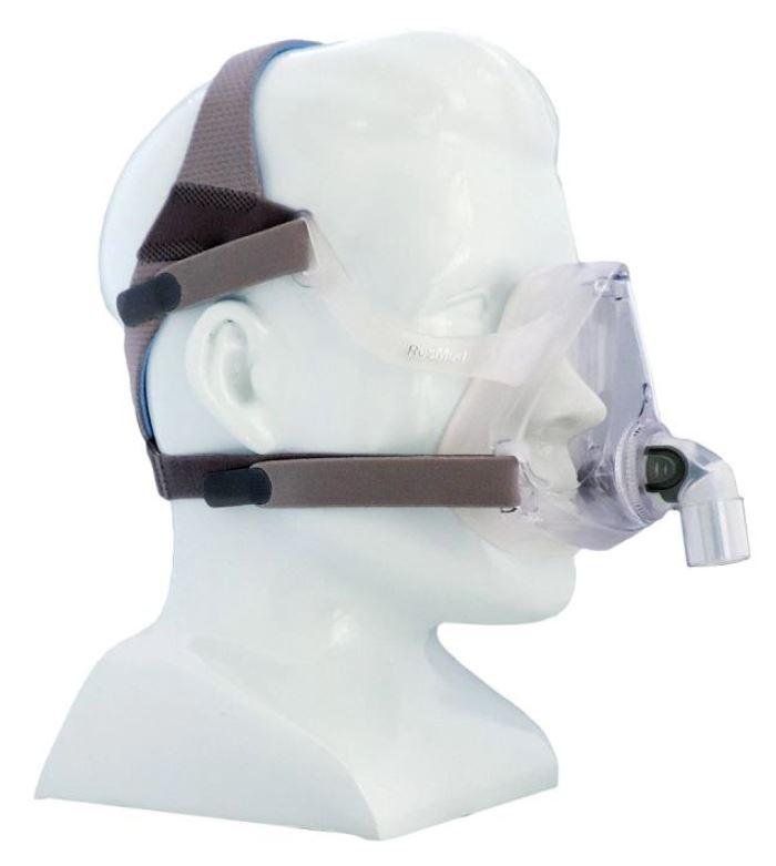 MÁSCARA PARA CPAP BIPAP FACIAL AIRFIT F10 MÉDIA - RESMED