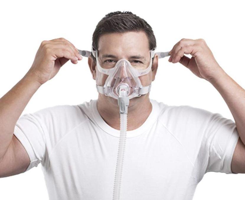 MÁSCARA PARA CPAP BIPAP FACIAL AIRFIT F10 PEQUENO - RESMED