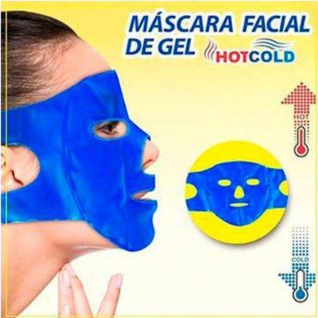 MÁSCARA PARA CPAP BIPAP FACIAL DE GEL HOT/COLD  AC069 - ORTHO PAUHER