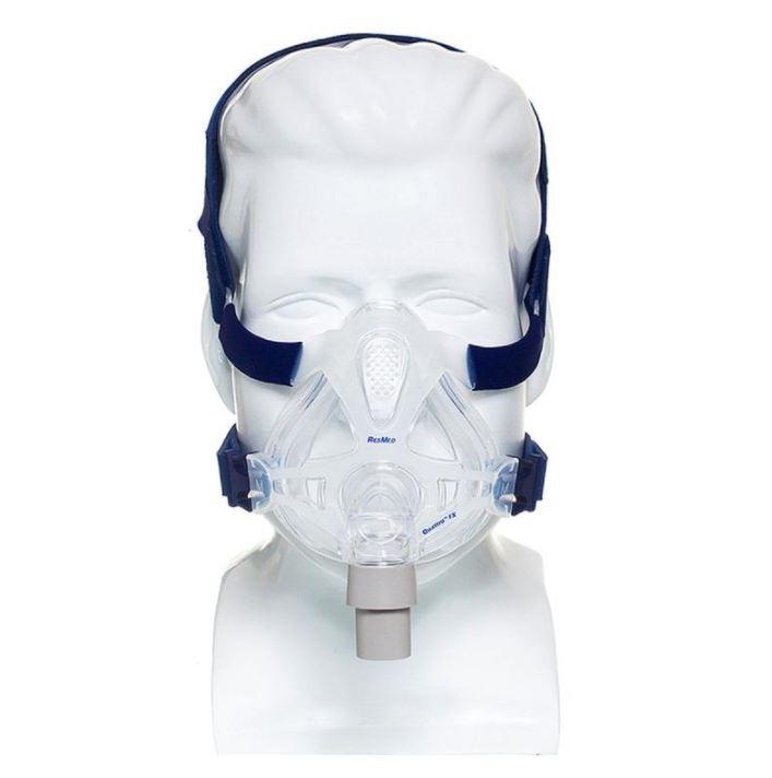 MÁSCARA PARA CPAP BIPAP FACIAL QUATTRO FX MEDIA 61701 - RESMED