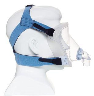 MÁSCARA PARA CPAP BIPAP FACIAL TOTAL FITLIFE P C/PONTA EXI - PHILIPS RESPIRONICS