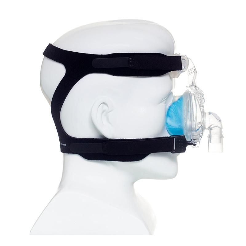 MÁSCARA PARA CPAP BIPAP NASAL COMFORT GEL BLUE TAM. G - PHILLIPS RESPIRONICS  - Shopping Prosaúde