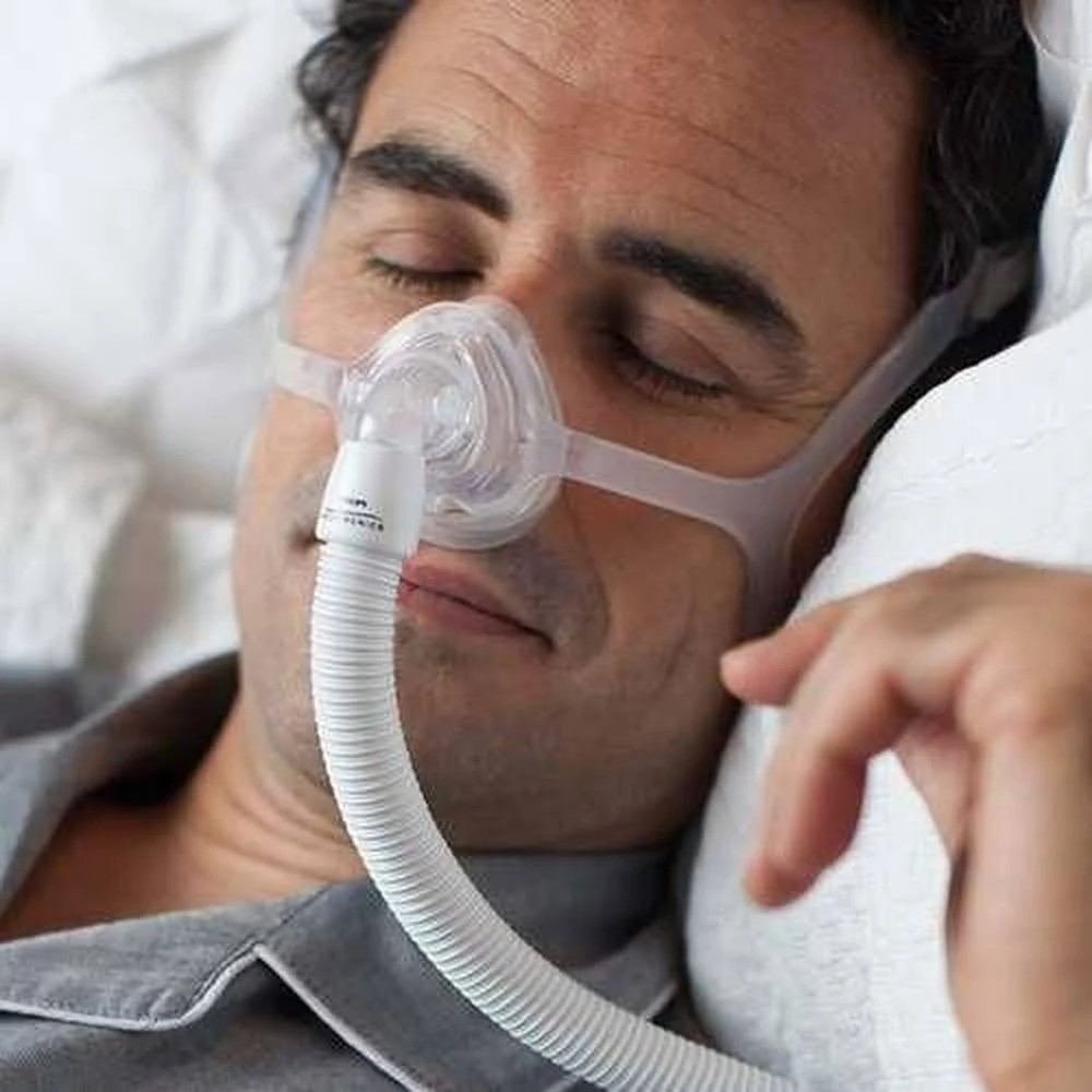 MÁSCARA PARA CPAP BIPAP NASAL TECIDO WISP - PHILIPS RESPIRONICS