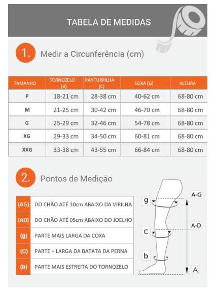 MEIA CALÇA LEGLINE 15-23MMHG ABERTA OLINDA (AT) - VENOSAN