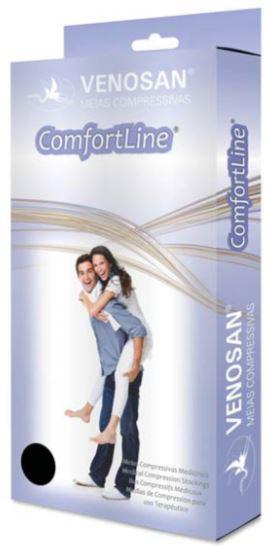 Meia Panturrilha (AD) Comfortline 20-30mmHg Aberta Bege - Venosan