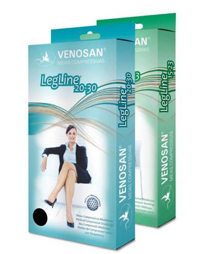 MEIA PANTURRILHA LEGLINE 20-30MMHG FECHADA (AD) - VENOSAN