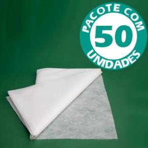 Mini Lençol Descartável Pacote com 50 Unidades - Kolplast