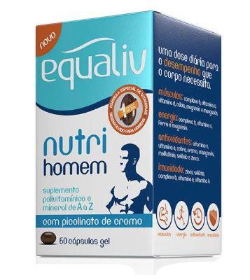 NUTRI HOMEM POLIVITAMINICO C/60 CAPS - EQUALIV