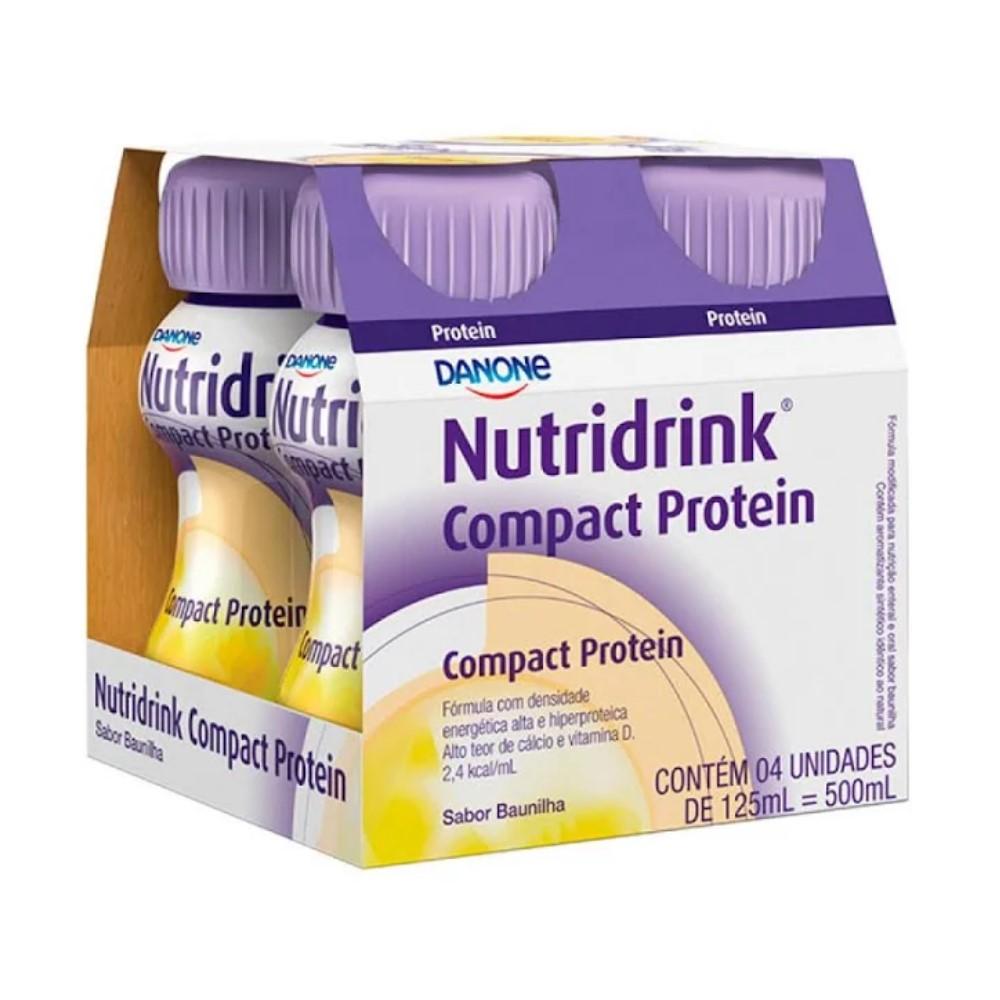 NUTRIDRINK COMPACT PROTEIN BAUN (4XPB125ML) - DANONE ENTERAL
