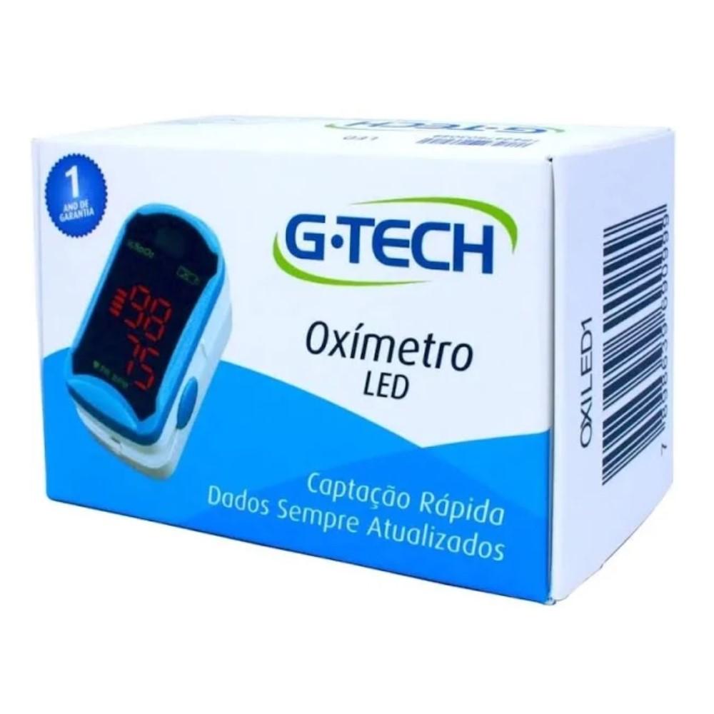 OXÍMETRO PULSO (DEDO) G-TECH MODELO LED