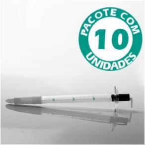 Retosigmoidoscópio Descartável Pacote com 10 Unidades - Kolplast  - Shopping Prosaúde