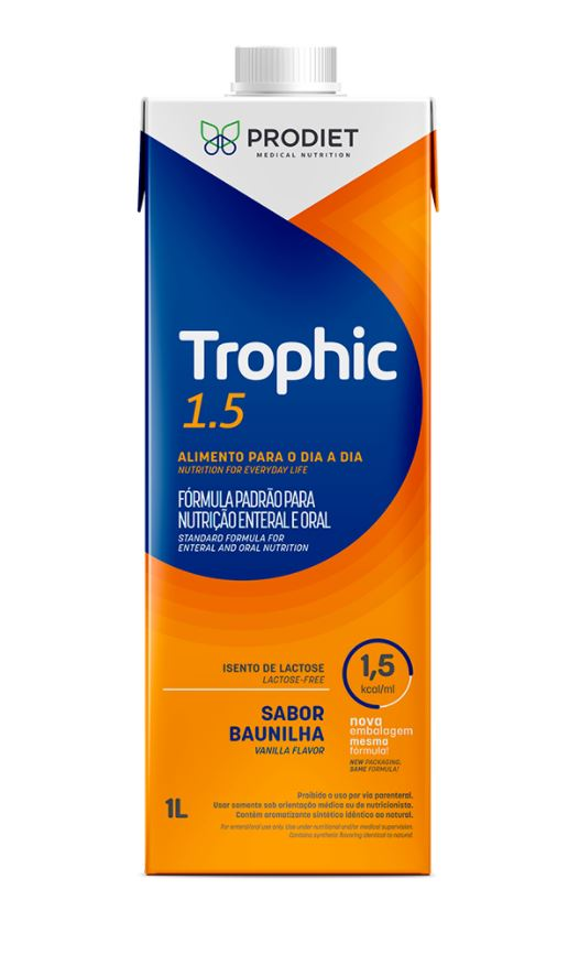 TROPHIC 1.5 BAUNILHA LITRO - PRODIET