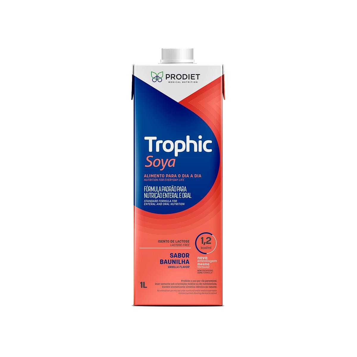 TROPHIC SOYA 1.2 BAUNILHA 1000ML - PRODIET