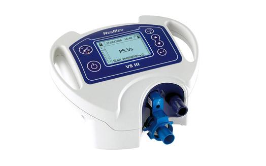 Ventilador a Volume e pressão VSIII - Resmed