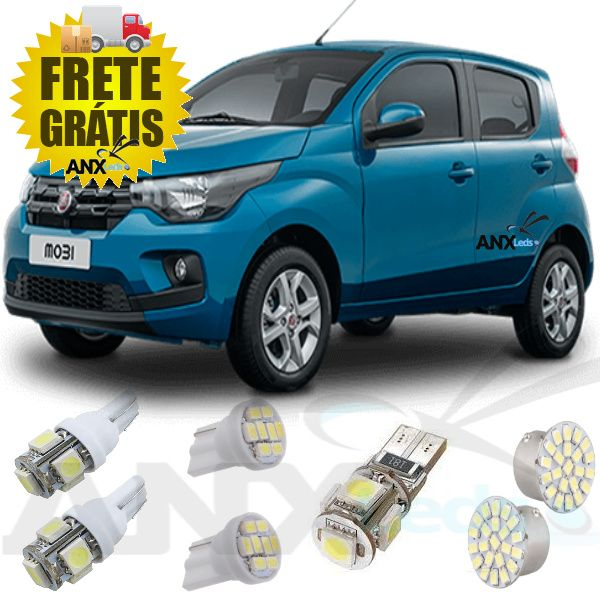 Kit Lampadas Led Fiat Mobi