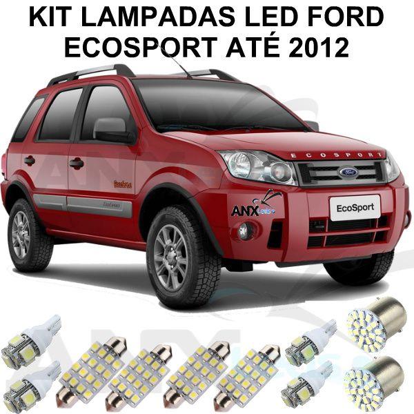 Kit Lâmpadas Led Ford Ecosport Até 2012