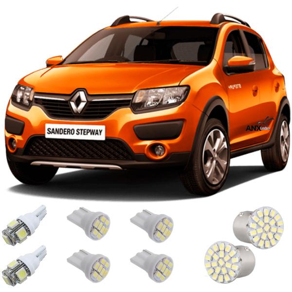 Kit Lampadas Led Renault Sandero