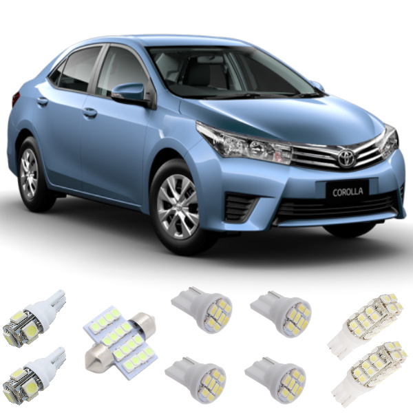 Kit Lampadas Led Toyota Corolla 2014 / 2016