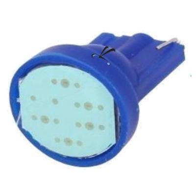 Lampada Pingo T10 1 Cob Azul 12v