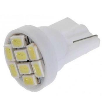 Lampada Pingo T10 8 Leds Smd  Branca 12V