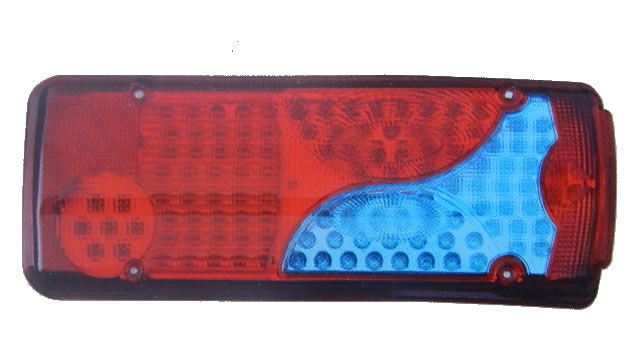 Lanterna De Led Traseira Para Caminhão Scania - Zd129