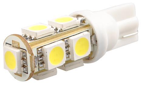 Lampada Pingo T10 9 Leds Smd Branca 12V