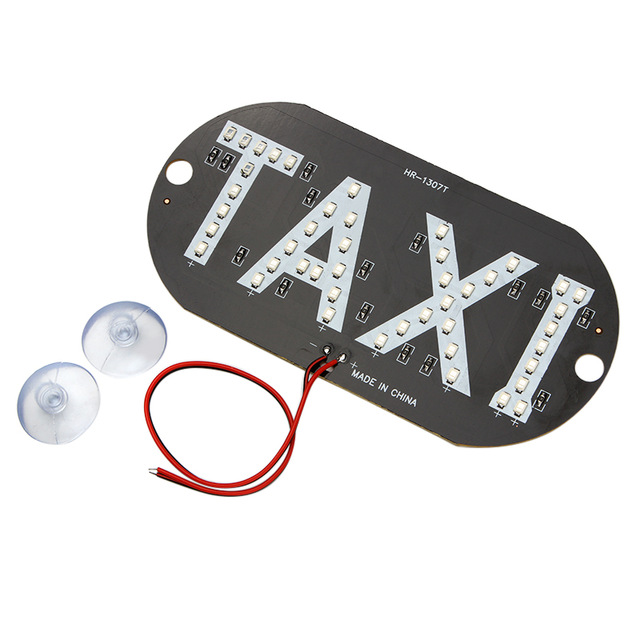 Taxi Led - Placa 45 Leds