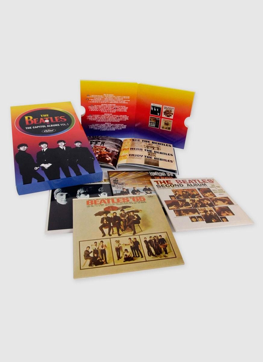 Produto IMPORTADO CD Box The Beatles The Capitol Albums Volume 1