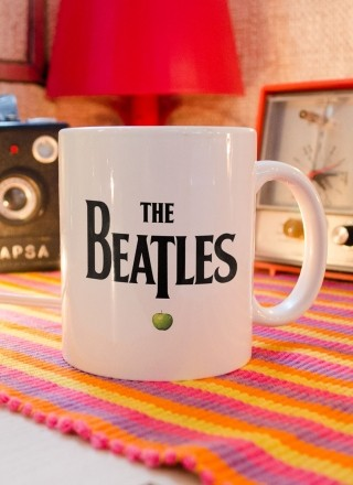 Caneca The Beatles Classic Logo