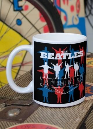 Caneca The Beatles Help!