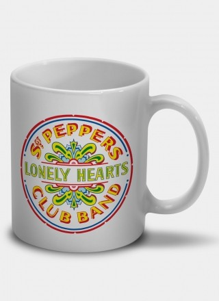 Caneca The Beatles Sgt. Pepper's Lonely Hearts Club Band