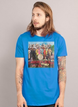 Camiseta Unissex The Beatles Capa Sgt. Pepper's