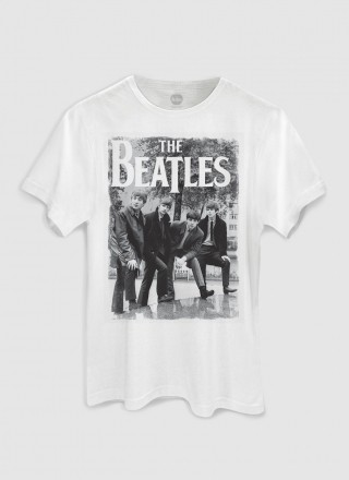 Camiseta Unissex The Beatles Hey What's That