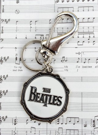 Chaveiro de Metal The Beatles Drum The Beatles