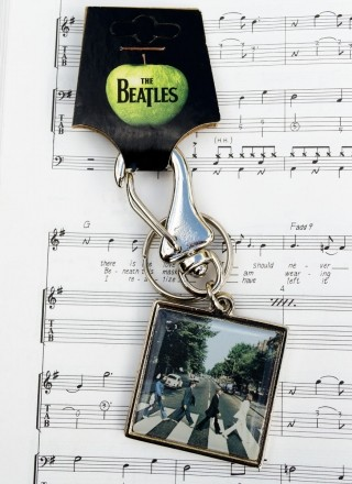 Chaveiro de Metal The Beatles Abbey Road