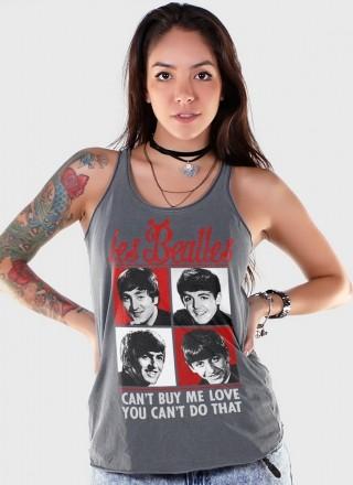 Regata Premium Feminina The Beatles Les Beatles Can't Buy Me Love