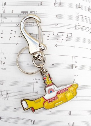 Chaveiro de Metal The Beatles Yellow Submarine 2