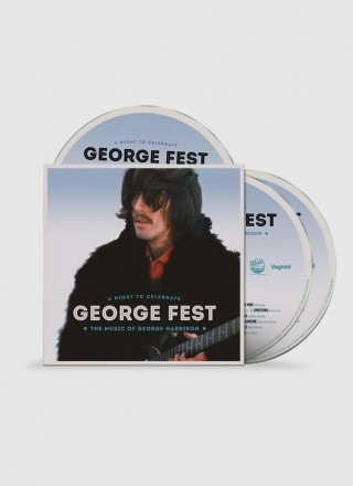 Produto IMPORTADO George Fest: Night to Celebrate the Music of George Harrison 2 CDs e 1 DVD