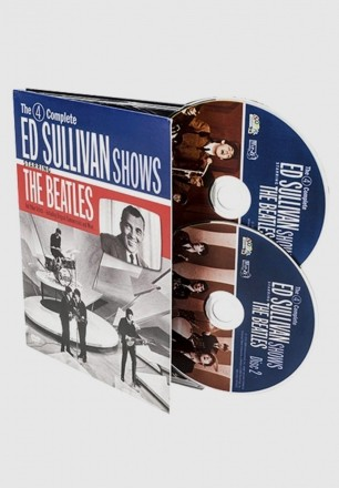 Produto IMPORTADO DVD Duplo The Beatles Complete Ed Sullivan Shows Starring The Beatles