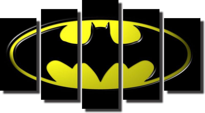 Quadro Decorativo Batman Super Heroi De Desenho