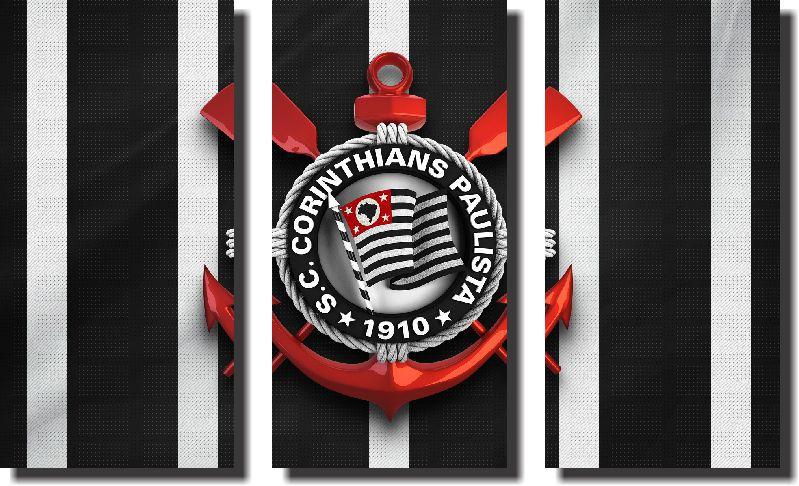Quadro Decorativo do Corinthians Varias Peças