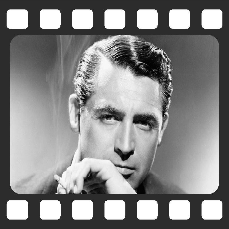 Quadro Decorativo de Cinema Cary Grant