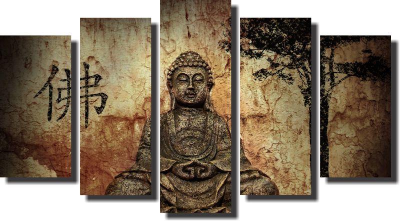 Quadro Decorativo Buda Para Sala e Quarto  M4