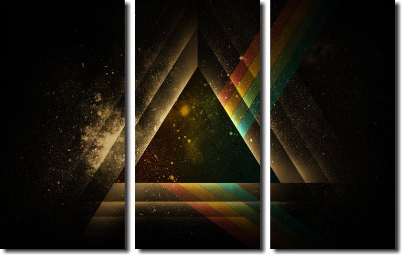 Quadro Decorativo Pink Floyd