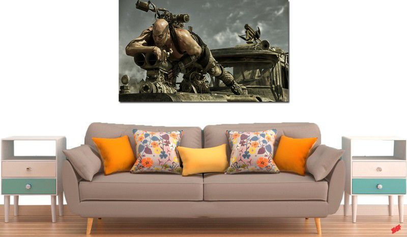 quadro decorativo filme Mad Max para quarto e sala 1 peça