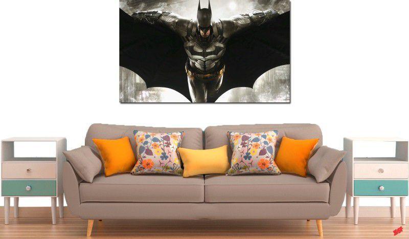 quadro decorativo filme batman vs arkham para quarto e sala 1 peça