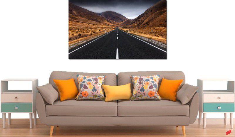 Quadro decorativo paisagem montanhas para quarto e sala 1 peça