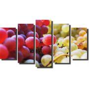 Quadros Decorativos Fruta Cachos Uvas Varias Peças