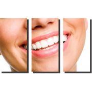 Quadro Decorativo Odontologia Dentista Varias Peças m3