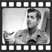 Quadro Decorativo de Cinema Clark Gable